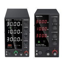 Wanptek – stabilisateur de tension réglable, alimentation électrique DC de laboratoire 60V 5a, Source de commutation 30V 10a