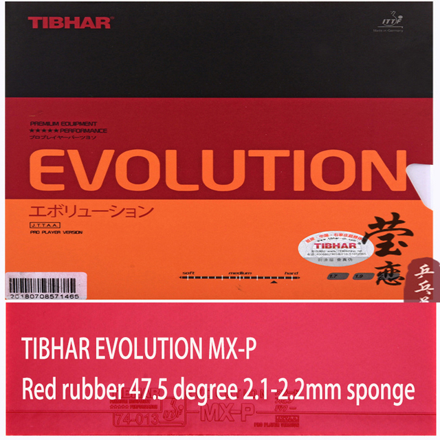 Tibhar EVOLUTION MX-P 2.1-2.2 Pro Version Tensor Table Tennis Rubber SALE