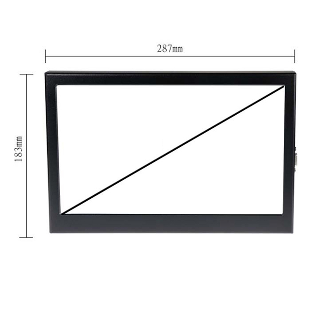 11.6 inch HD 1080P Portable Monitor 1920x1080 IPS Widescreen LED LCD Display HDMI/VGA Game Console /Raspberry Pi PS3 PS4 Xbox360 2