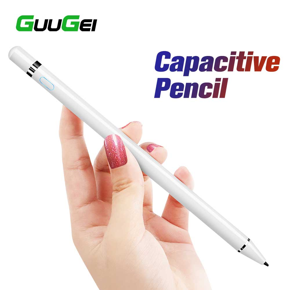 GUUGEI Active Stylus Touch Pen For Apple IPad Pro 11 12.9 10.5 9.7 Smart Capacitive Screen Pencil For Xaiomi Redmi Note 7 Tablet