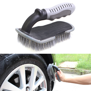 Car Tyre Cleaning Brush U-shap