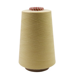 Aramid 1414 fireproof yarn staple fiber sewing thread flame retardant wear resistant high temperature for cut-resistant gloves