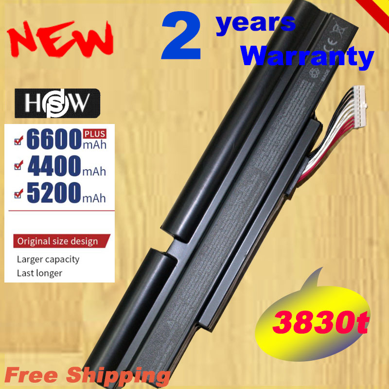 HSW Laptop Battery For Acer Aspire TimelineX 3830T 4830T 5830T 3830TG <font><b>4830TG</b></font> 5830TG 3INR18/65-2 AS11A3E AS11A5E fast shipping image