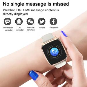 Image 3 - Longet1.3inch IPS Color Screen Smart Bracelet M8 Waterproof Call Reminder Sleep HeartRate Monitoring fitness Men for Sport Watch