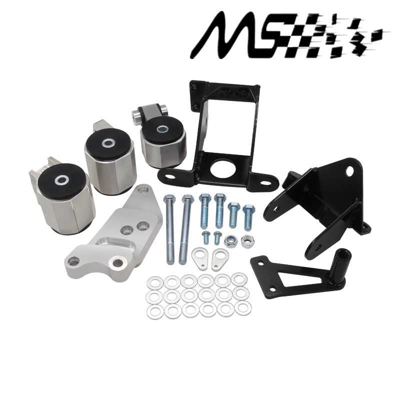 Engine Baru Swap Mount Kit Untuk HONDA CIVIC 06-11 SI 70A MOUNTS ENGINE MOTOR dengan logo
