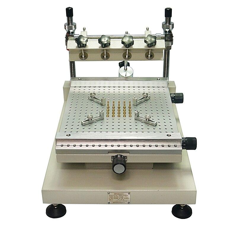 Chip Repair LY3040H Solder Paste Printer Manual Silkscreen Printer Red Glue Printing Machine