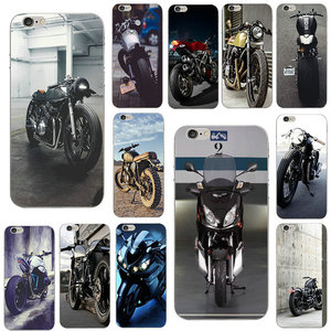 Ретро кантри мотоциклетный Чехол прозрачный ТПУ Мягкий силиконовый чехол для телефона для iphone 7 7Plus 6 6S Plus 4 4S 5C 5 5S SE сумки