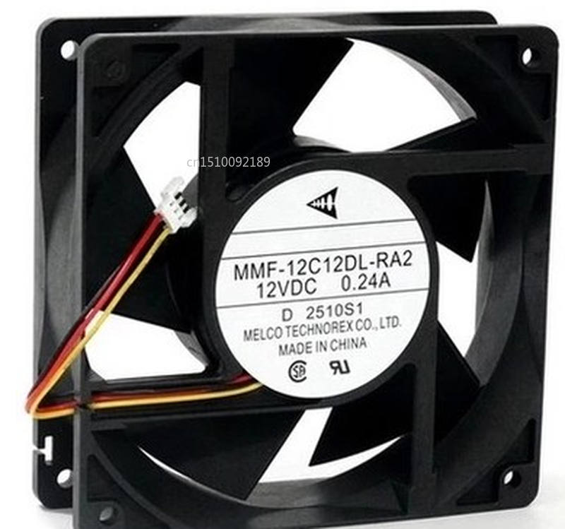 Free Shipping 12038 MMF-12C12DL-RA2 12cm DC 12V 0.24A Inverter Fan Cooling Fan