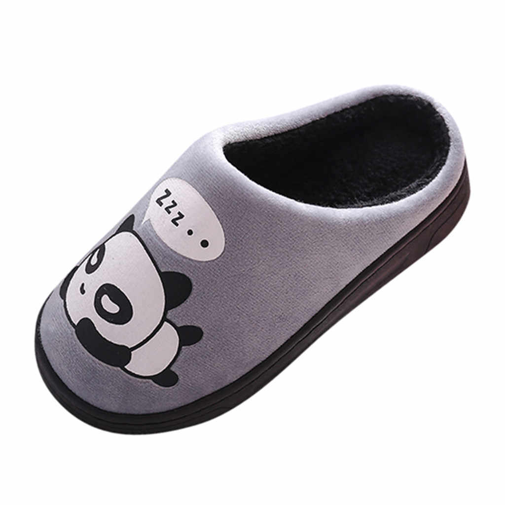 Children Cute Cotton winter Warm Home Shoes Slippers Baby Boys Girls Little Kid Shoes Cute Animal Kid Home Thickening Slippers