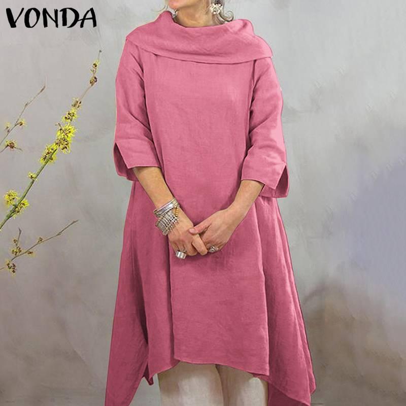 Knee-Length Dress - Plus Size