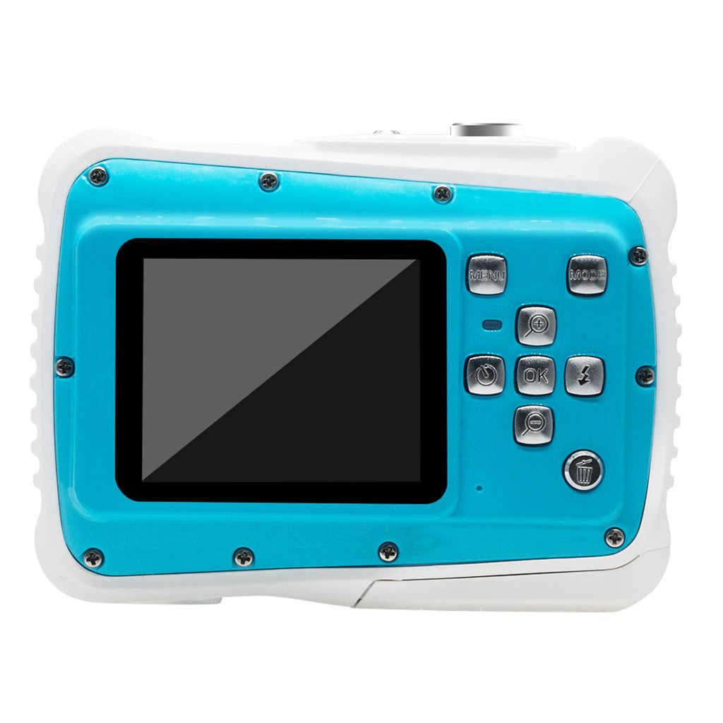 Ouhaobin 防水デジタルカメラ子供デジタルカメラ HD 水中アクションビデオカメラ 2.0 インチ水少年少女