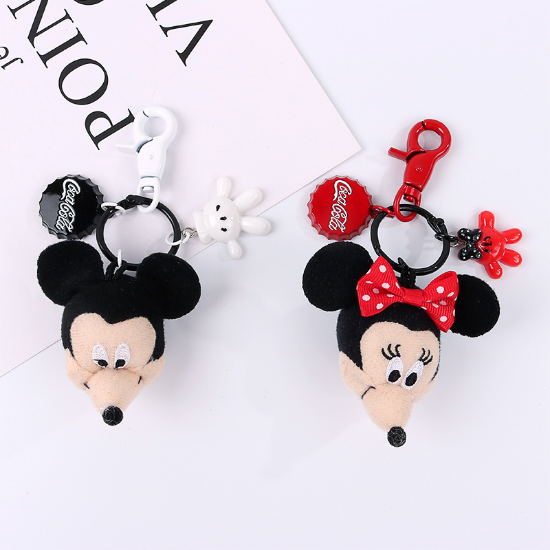 Mickey Keyring Keychain Enamel Bag Charm Birthday Gift Present # 01