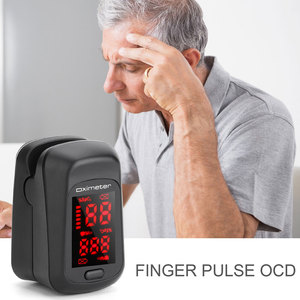 In Stock! Portable Finger Oximeter Fingertip Pulsoximeter Pulse Oximeter Blood Pressure Pulse Heart Rate Monitor Without Battery(China)