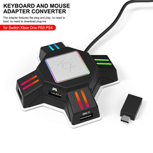 Bluetooth Keyboard Mouse Adapter Mobile Gamepad Controller Converter For Xbox PS4 Switch PUBG Auxiliary Durable Game Accessories