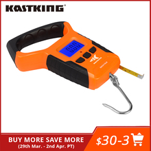 Digital-Scale Tape-Measure Water-Resistant Kastking Portable Light-Read with LCD 0-110-Lbs
