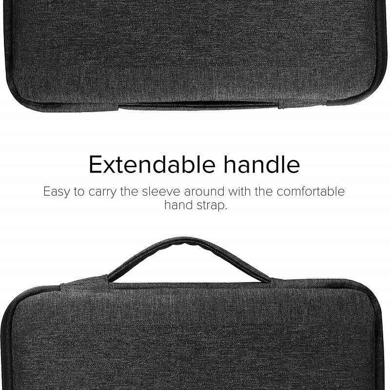 8th 2020 2019 Handbag Compatible iPad For Carrying Generation Zipper 10.2inch Tablet Bag