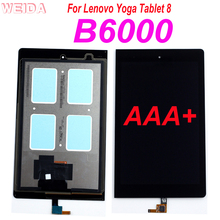 цена на AAA+ 8.0'' Replacement LCD For Lenovo Yoga Tablet 8 B6000 60044 LCD Display Touch Screen Digitizer Assembly for B6000-h LCD