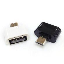 Высокое качество 2 шт мини микро USB мужчина к USB Женский OTG адаптер конвертер для huawei Xiaomi Android смартфон планшет