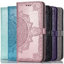 3D skórzane etui w kwiaty na OnePlus 6 6T 7 7T 8 Pro T 8Pro etui Flip Wallet telefon wieszak na worek tylna okładka Fundas dla OnePlus8 jeden Plus 7