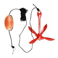 3.3lb Folding Grapnel Anchor For Kayak Jet Skis Dinghy Canoe Inflatable Boat