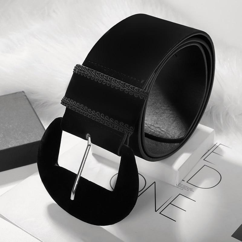 Gold Velvet Belt Plus Size Wide Belts For Women Waist Big Ceinture Femme Designer Corset Belt Luxury Western Cummerbunds 2020