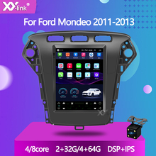 eunavi car radio multimedia player android 10 0 2 din gps autoradio for ford mondeo s max focus c max galaxy fiesta form fusion 9.7 INCH tesla touch screen Android 10.0 Car radio stereo for Ford Mondeo 2011-2013 Multimedia player gps Navigation autoradio