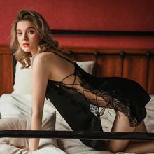 Сексуальное нижнее белье топы для сна кружевная ночная сорочка