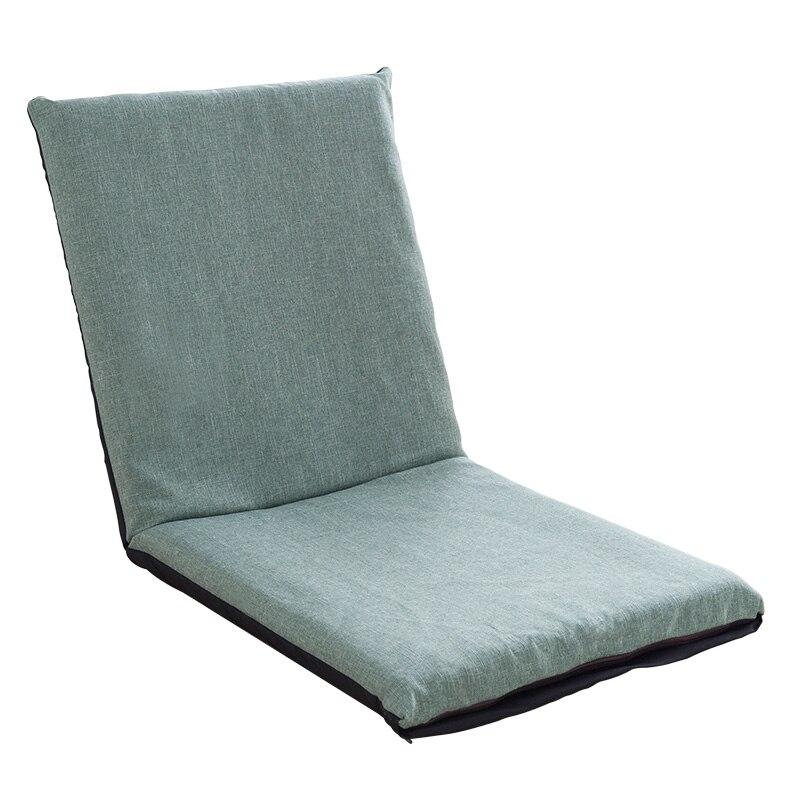Lazy Sofa Tatami Single Small Sofa Back Chair Balcony Bay Window Folding Cushion Sofa