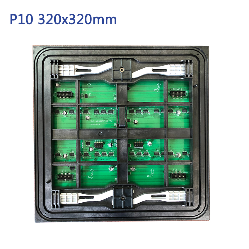 SMD3535 Outdoor P10mm 320x320mm Led Module Full Color Led Video Wall Front Service Led Display Panels Module