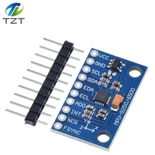 MPU 9250 GY 9250 9 axis sensor module I2C/SPI Communications Thriaxis gyroscope + triaxial accelerometer+triaxial magnetic field