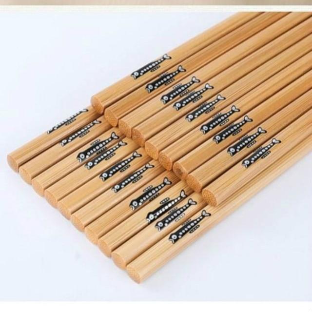 Купить 5 пар ручных палочек для еды из натурального бамбука здоровые картинки цена
