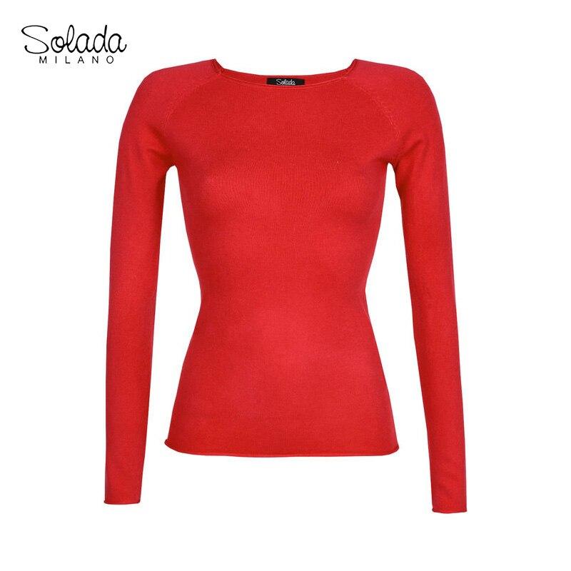 Round Neck Pullover Soft