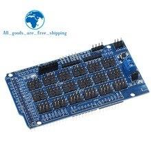 Dla Arduino MEGA czujnik tarcza V1.0 V2.0 dedykowane rozszerzenie rozwoju pokładzie MEGA 2560 Sup IIC Bluetooth SD Robot części DIY