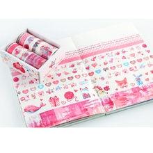 10 rolls Kawaii Animal Unicorn Washi tape Scrapbooking masking tapes for card making DIY gift decor school stationary supplies