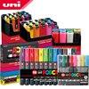 Uni Posca Marqueur Stylo Ensemble Pop Publicité Affiche Graffiti Note Stylo Couleur Brillant Multicolore Stylo PC 1M PC 3M PC 5M