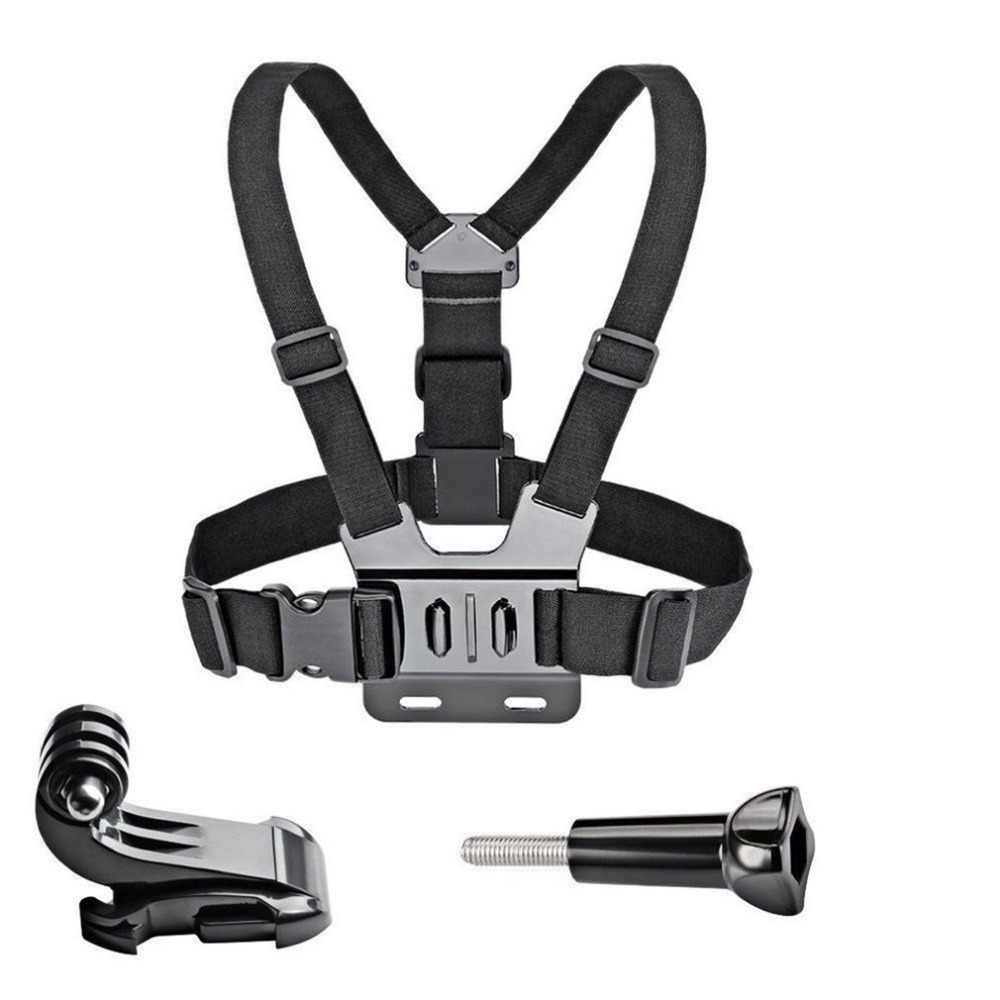 GoPro Aksesoris Adjustable Chest Mount Harness Dada Tali Sabuk untuk GoPro HD HERO 8 7 6 5 4 3 + 3 SJ4000 SJ5000 Olahraga Kamera
