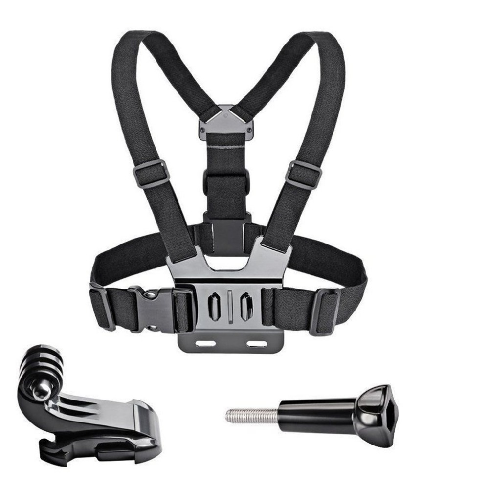 GoPro Accessories Adjustable Chest Mount Harness Chest Strap Belt for GoPro HD Hero 8 7 6 5 4 3+ 3  SJ4000 SJ5000 Sport Camera-0