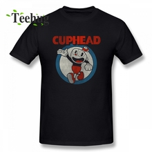 Cuphead T shirt Plus size Casual 100% Cotton Tee New Arrival Cute Game Tees
