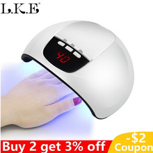 36W Nail Lamp SUN X5 Manicure Dryer for All Gel Polish with LED Display 3 Timer Automatic Sensors Art UV