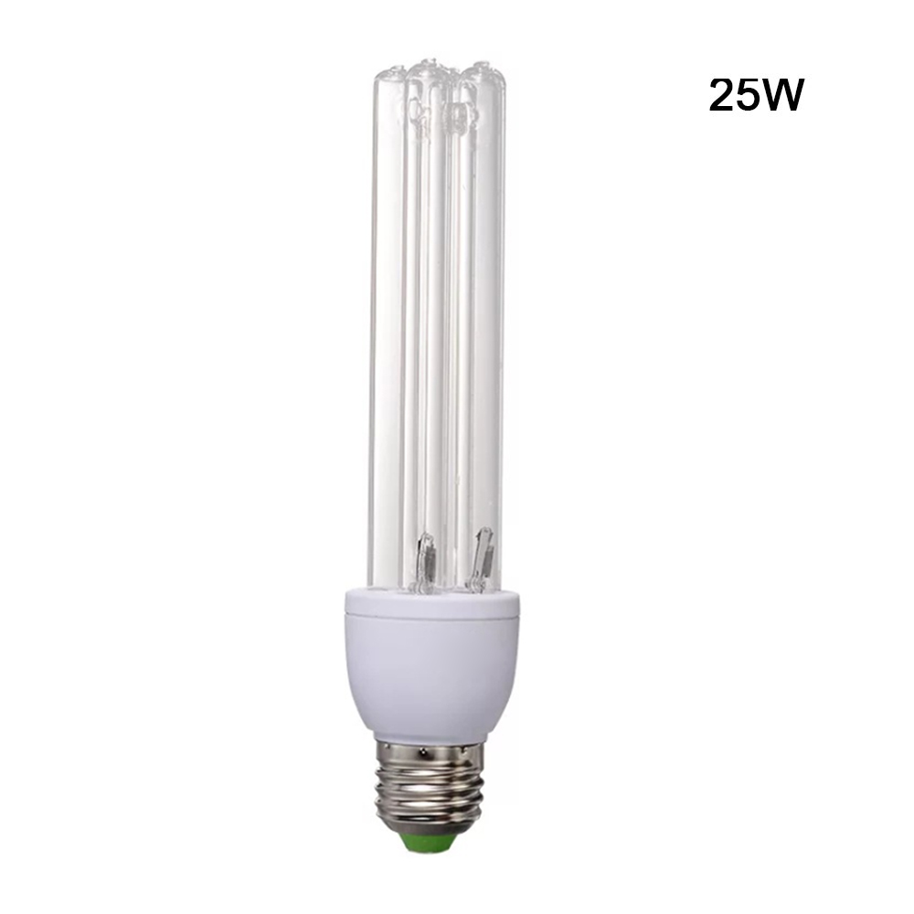 1 Pcs Uvc Ultraviolet Sterilizing Lamp Uv Lights E27 26w/25w/3w  Bulb For Home Office Germicidal Lamp Fixtures