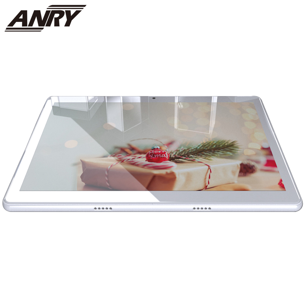 ANRY Android 7.0 10.1 Inch Tablet PC 3G Phone Call WiFi Bluetooth IPS 1280x800 Touch Screen 1+16G Dual Camera PC Tab 5000mAh