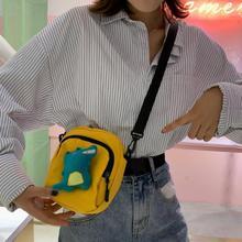 Women Canvas Handbags Korean Mini Student Bag Cell Phone Bags Simple Small Crossbody Bags Casual Ladies Flap Shoulder Bag women casual bags canvas small fresh woman handbags bags simple striped female fashion bags