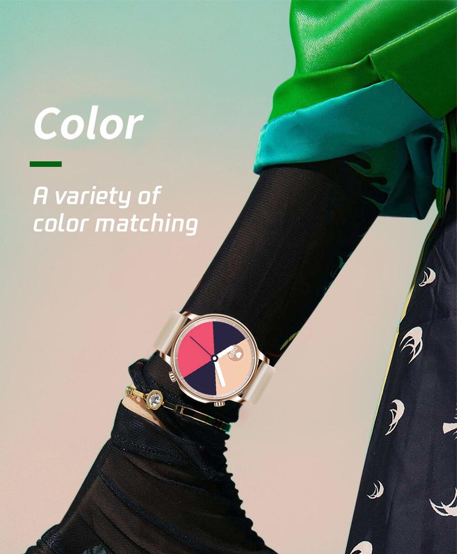 Hcdf64e1543654e8d8fd8c732004df107A COLMI V23 Women Smart Watch Full Touch Fitness Tracker IP67 Waterproof Blood Pressure Smart Clock Men Smartwatch