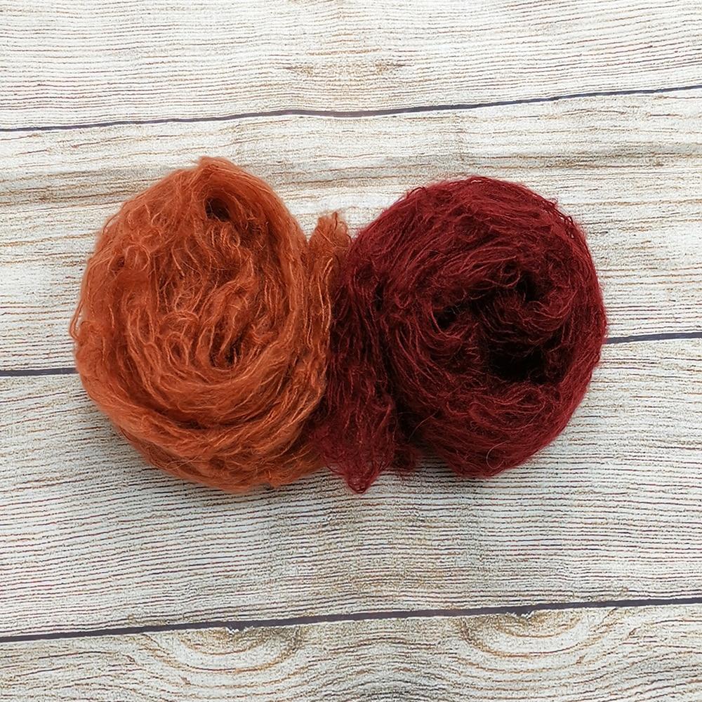 Clearance Mohair 60x30cm Crochet Newborn baby Wraps mix colors for Newborn photography props mohair wrap