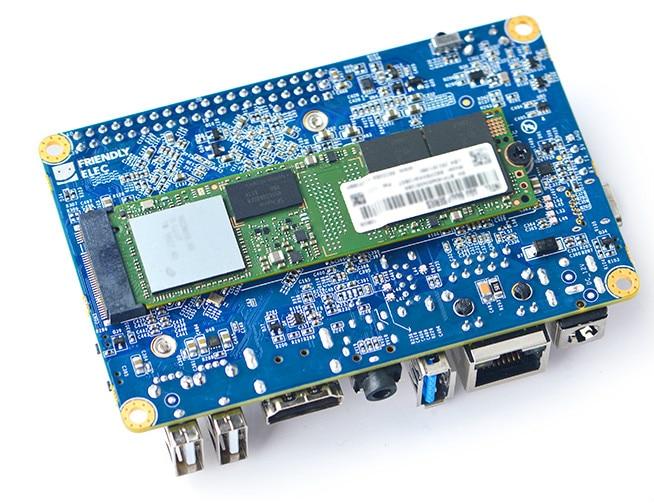 Tüketici Elektroniği'ten Hoparlör Aksesuarları'de RK3399 NanoPC T4 Geliştirme Kurulu ROS Çift Kamera 4K Oynatma Lubuntu Android7 8 title=