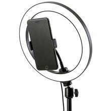 """6 10 """"светодиодный светильник для селфи с кольцом лампа для Tik Tok фотография Макияж Видео Live Studio 3200 5600K Диммируемый Мини светодиодный кольцевой светильник для камеры"""