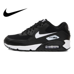 Original Authentic NIKE WMNS AIR MAX 90 Women's Running Shoes Sport Outdoor Sneakers Athletic Designer Jogging Footwear 325213