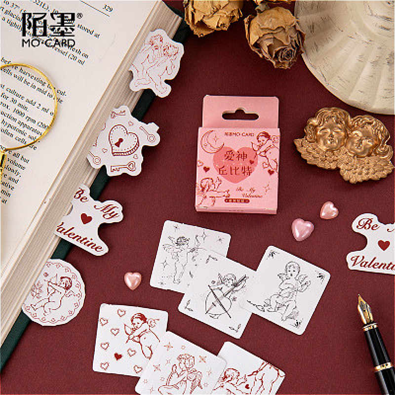 1 חבילה Kawaii קופידון אלוהים של אהבה סימניות ספר דף נוח ספרות אמנות בית ספר משרד סטודנטים אספקת סימניות מתנות