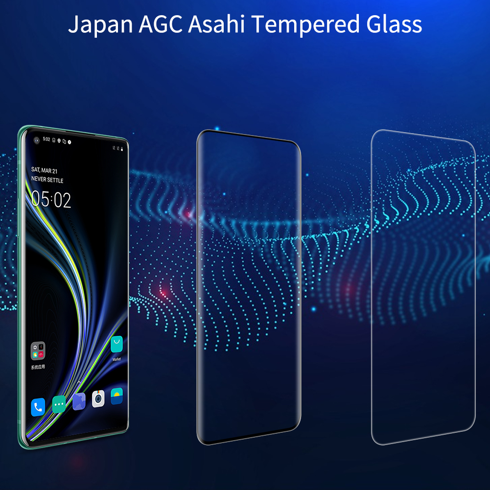 Oneplus 8 Pro Nillkin Amazing 3D DS+ Max Tempered Glass Protector 2
