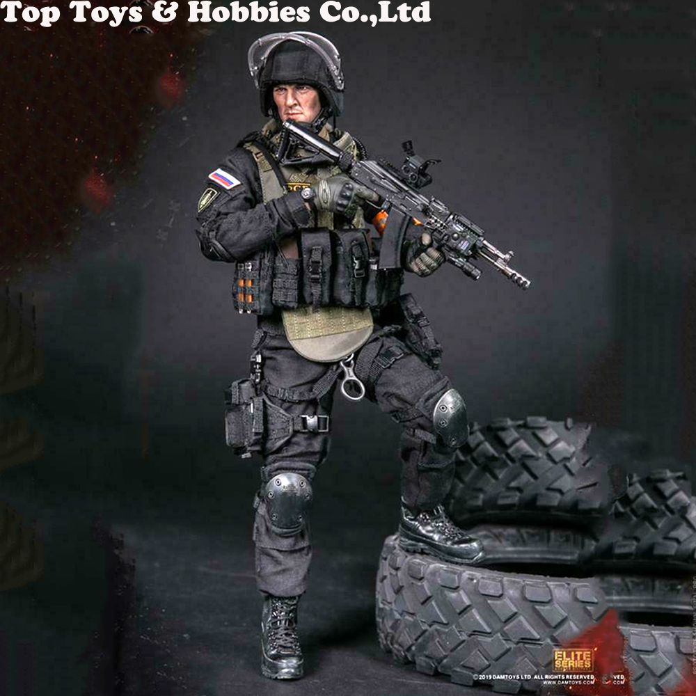 1/6 DAMTOYS 78064 soldier figure RUSSIAN SPETSNAZ FSB ALPHA GROUP ACTION FIGURE Collectible